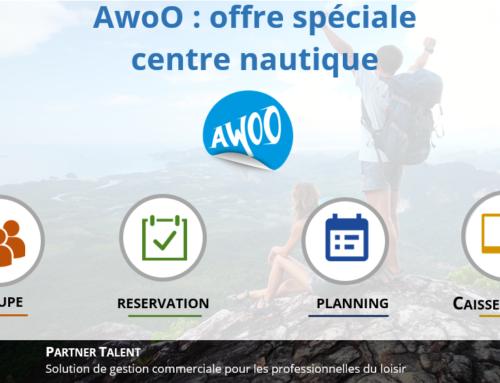 AwoO : offre spéciale pour les centres nautiques